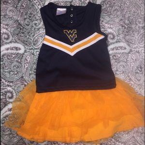 West Virginia Cheerleading Outfit